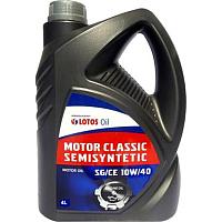 Моторное масло Lotos Motor Classic Semisyntetic SG/CE 10W40 (4л) -