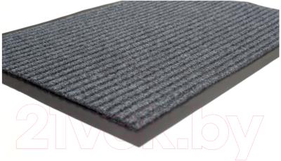 Коврик грязезащитный Kovroff Стандарт ребристый 60x90 / 20302 (серый)