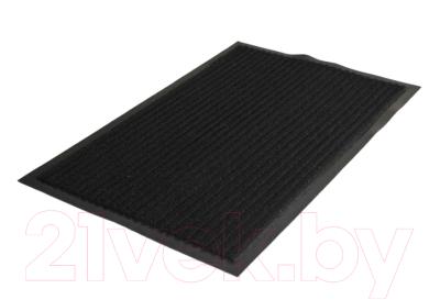 Коврик грязезащитный Kovroff Стандарт ребристый 60x90 / 20301 (черный)