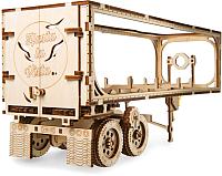 Сборная модель Ugears Полуприцеп к тягачу VM-03 / 70057 -