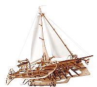 Сборная модель Ugears Тримаран Мерихобус / 70059 -