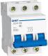 Выключатель автоматический Chint DZ47-60 3P 40A 4.5kA (C) / 188033 -
