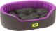 Лежанка для животных Ferplast Dandy 80 / 82944099 (черный/фиолетовый) -
