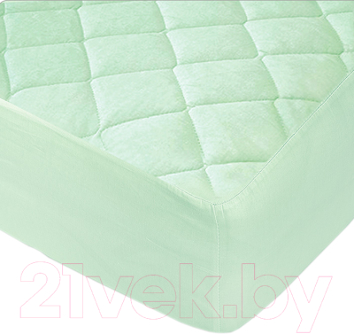 Наматрасник защитный Vegas Protect Cotton S1 180x200 (фисташковый)
