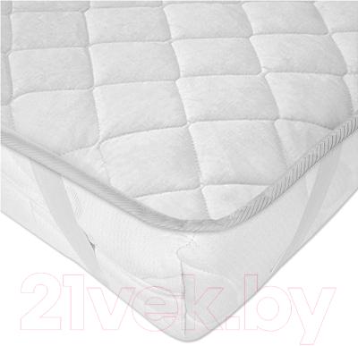 Наматрасник защитный Vegas Protect Cotton S4 140x200 (белый)