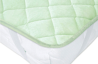 Наматрасник защитный Vegas Protect Cotton S4 160x200 (фисташковый) -