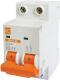Выключатель автоматический КС ВА 47-39 2Р 2А С / 80402 -