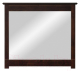 Зеркало ММЦ Рауна 100x88 (колониал) -