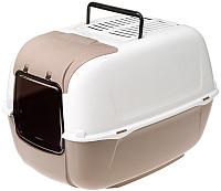 Туалет-домик Ferplast Prima Cabrio / 72053899 (бежевый) -