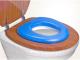 Детская накладка на унитаз Reer Мягкая 48111 (голубая) -