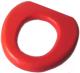 Детская накладка на унитаз Reer Мягкая 48112 (красная) -