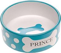 Миска для животных Ferplast Thea Small Bowl / 71098399 (0.3л, голубой) -