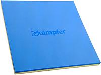 Гимнастический мат Kampfer Татами (синий/желтый) -