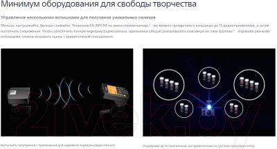 Пульт ДУ Sony FAWRC1M