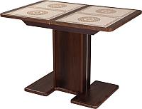 Обеденный стол Домотека Каппа ПР (орех/05/пл52) -