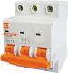 Выключатель автоматический КС ВА 47-39 3Р 4А D / 80904 -