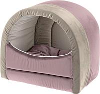Домик для животных Ferplast Majesty 20 / 83462002 (розовый/бежевый) -