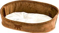 Лежанка для животных Ferplast Laska 65 / 83808012 (коричневый) -