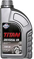 Моторное масло Fuchs Titan Universal HD15W40 / 600642273 (1л) -