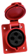 Розетка кабельная КС 424 32А YHT -