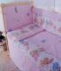 Простыня детская Баю-Бай Забава / ПР14-З1 (розовый) -