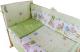 Простыня детская Баю-Бай Забава / ПР14-З3 (зеленый) -