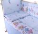 Простыня детская Баю-Бай Забава / ПР14-З4 (голубой) -