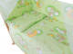 Простыня детская Баю-Бай Нежность / ПР14-Н3 (зеленый) -