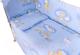 Простыня детская Баю-Бай Нежность / ПР14-Н4 (голубой) -