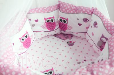 Простыня детская Баю-Бай Раздолье / ПР15-Р1 (розовый)
