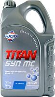 Моторное масло Fuchs Titan Syn MC 10W40 / 601411717 (5л) -