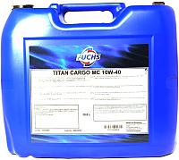 Моторное масло Fuchs Titan Cargo MC 10W40 / 601367595 (20л) -