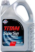 Моторное масло Fuchs Titan Supersyn Longlife 5W40 / 601236655 (4л) -