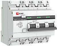 Дифференциальный автомат EKF PROxima АД-32 25/30 4п -