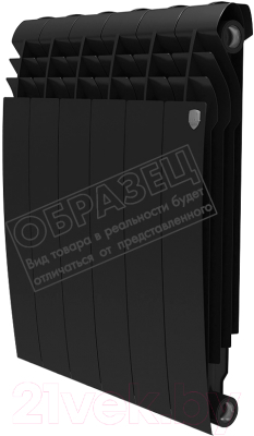 Радиатор биметаллический Royal Thermo Biliner 500 Noir Sable
