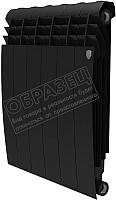 Радиатор биметаллический Royal Thermo Biliner 500 Noir Sable (7 секций) -