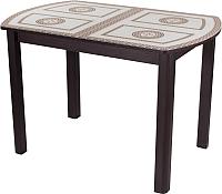 Обеденный стол Домотека Танго ПО 70x110-147 (ст-71/венге/04) -