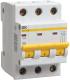 Выключатель автоматический IEK ВА 47-29М 4А 3п С / MVA21-3-004-C -