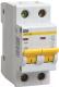 Выключатель автоматический IEK ВА 47-29M 8A 2п 4.5кА D / MVA21-2-008-D -
