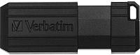 Usb flash накопитель Verbatim PinStripe Store 'n' Go 16GB / 49063 (черный) -