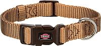 Ошейник Trixie Premium Collar 201514 (S-M, карамель) -
