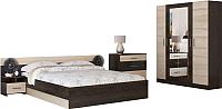 Комплект мебели для спальни Rikko Уют (сонома) -