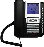 Проводной телефон Аттел 211 (черный) -