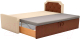Двухъярусная кровать Mebelico Севилья 30 / 59592 (рогожка, бежевый/коричневый) -