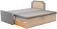 Двухъярусная кровать Mebelico Севилья 30 / 59596 (рогожка, серый/бежевый) -