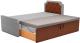 Двухъярусная кровать Mebelico Севилья 30 / 59597 (рогожка, серый/коричневый) -