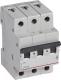 Выключатель автоматический Legrand RX3 3P C 50A 4.5кА 3M / 419713 -