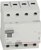 Устройство защитного отключения Legrand RХ3 4P 63A 30mA 10kA 4M тип АС / 402064 -