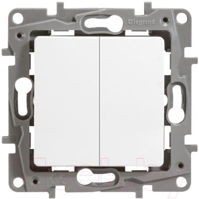 Выключатель Legrand Etika 672212 (белый)