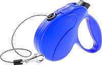 Поводок-рулетка Ferplast Amigo Easy M / 75741425 (шнур синий) -